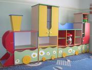 детские кроватки,  игровая модульная мебель,  столики, стульчики