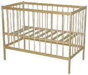 Кроватки детские из массива сосны