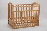 Новая кроватка из натурального бука